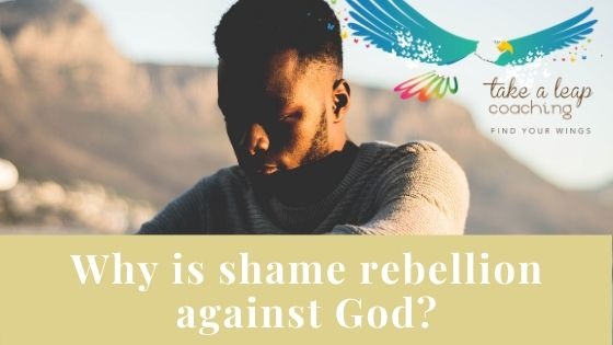 Why is shame classified as rebellion?