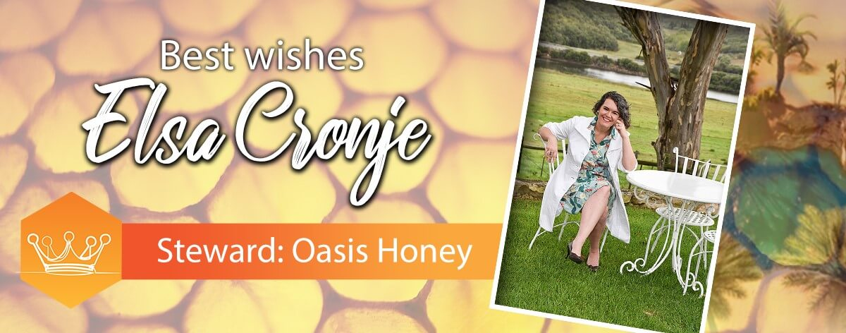 Best Wishes from Oasis Honey