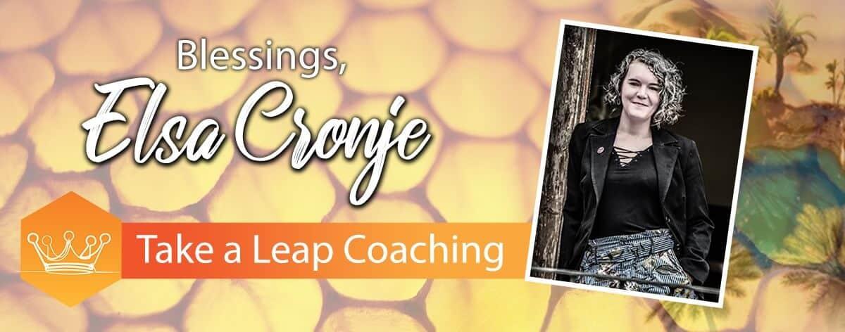 Take a Leap Coaching Blessings